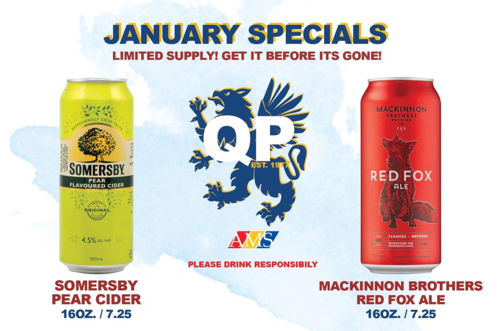 January Specials - Somersby Pear and Mackinnon Ale